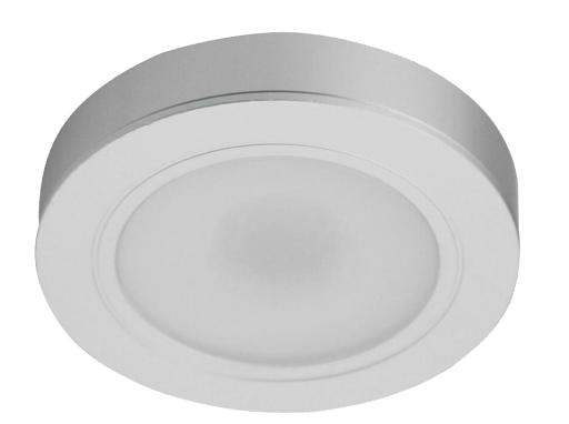 Mobilux LED-Küchenunterbauleuchte 3er-SET MOBMÖBEL 3x3W 830 chrom 01770040