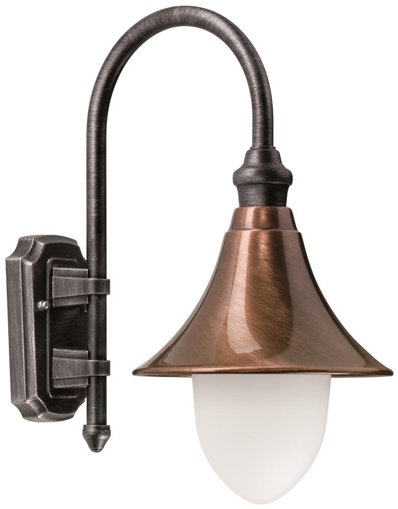 LCD Wandaußenleuchte Kupfer 1078