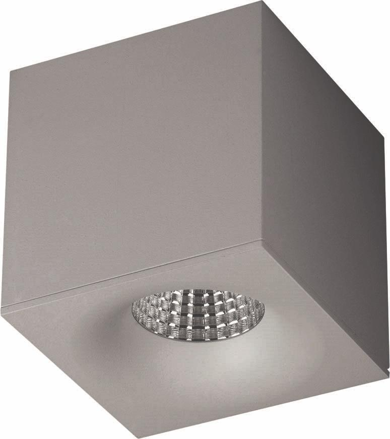 My Light LED-Spot BRICK grau 399622