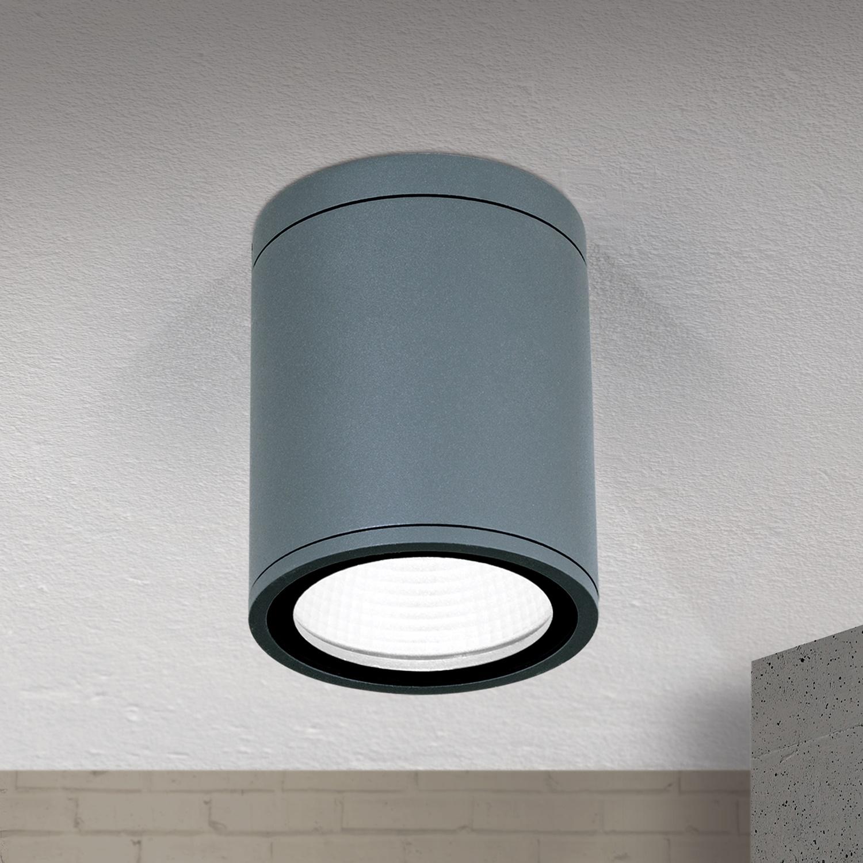 Hausmarke LED-Deckenaußenleuchte 9cm SPUTNIK anthrazit AL 11-1199 anthrazit