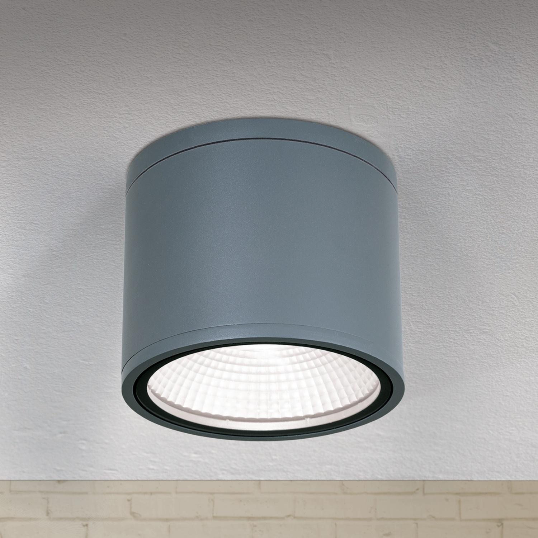 Hausmarke LED-Deckenaußenleuchte 15cm SPUTNIK anthrazit AL 11-1200 anthrazit