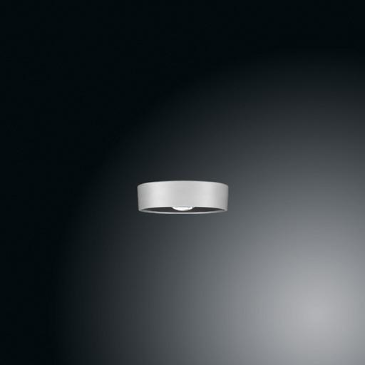 Ribag LED-Deckenleuchte KIVO AC/230V 14cm grau (ohne Blende) 4123.120.30.8 D