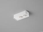 LED-2er-Deckenstrahler CAS weiß