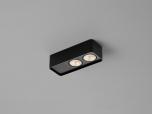 LED-2er-Deckenstrahler CAS schwarz