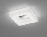 LED-Wand-/Deckenleuchte COSI 30x30cm Chrom glänzend