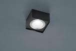 LED-Deckenleuchte KARI 12x12cm schwarz
