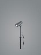 LED-Erdspießleuchte MATCH 27cm graphit