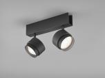 LED-2er-Deckenspot PONT schwarz
