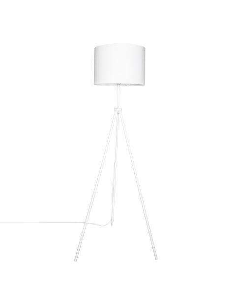 Stehleuchte Rina 145 cm Weiß