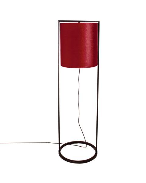 Stehleuchte Vieste 131 cm Rot