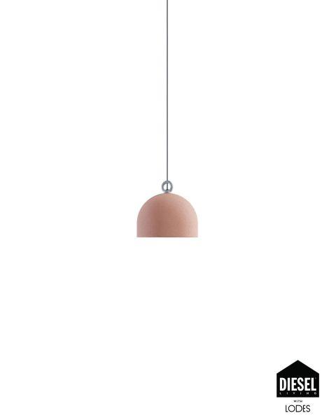 Pendelleuchte URBAN CONCRETE rosa 25cm (ohne Baldachin)