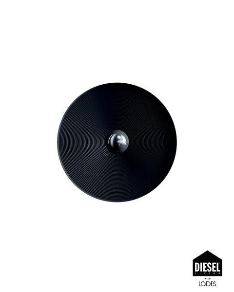 Wand-/Deckenleuchte VINYL schwarz 60cm