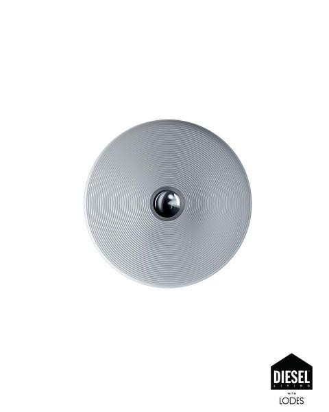Wand-/Deckenleuchte VINYL silber 60cm