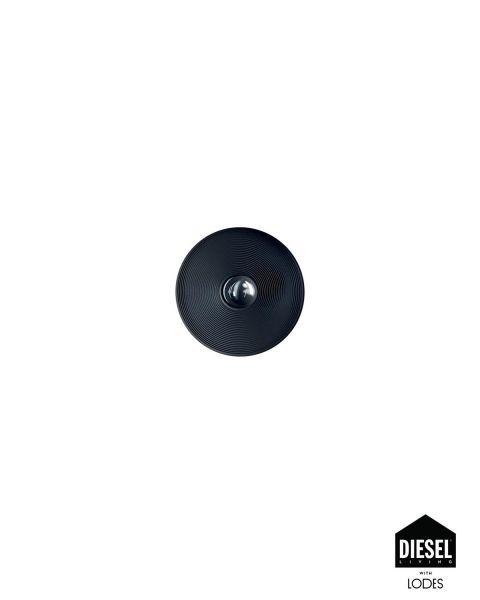Wand-/Deckenleuchte VINYL schwarz 32cm