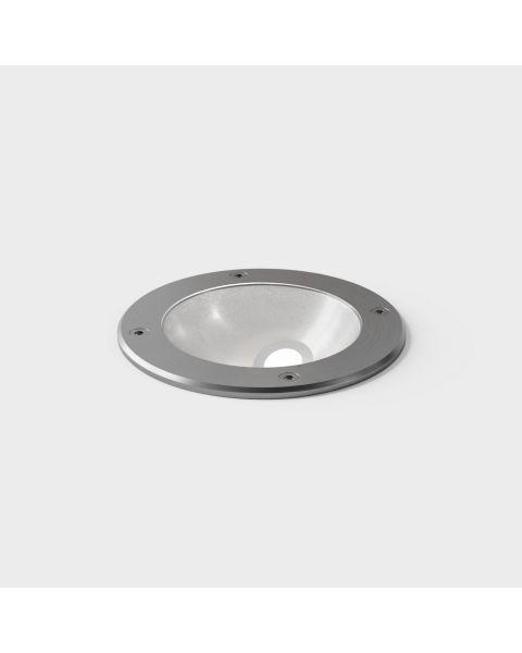 LED-Bodeneinbauspot IN CONNECT asymmetric Edelstahl