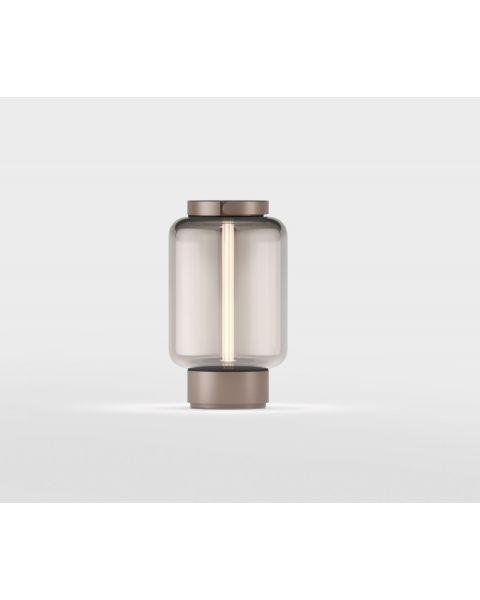 LED-Akku-Tischleuchte QU Bronze