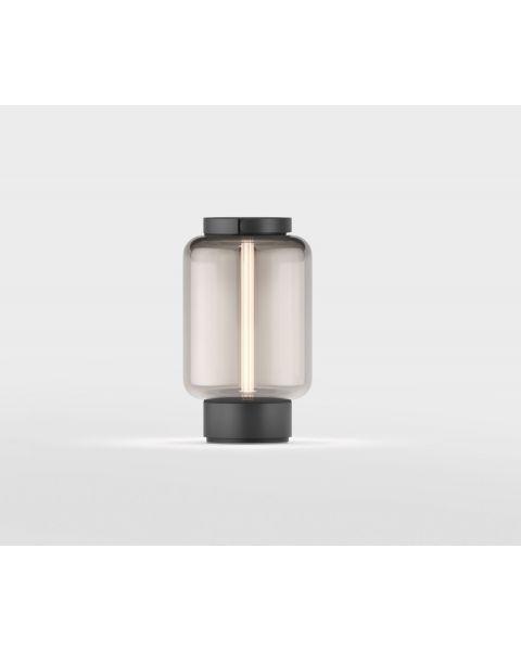 LED-Akku-Tischleuchte QU schwarz