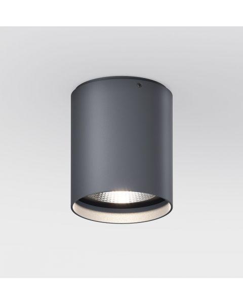 LED-Deckenspot UP R anthrazit (rund)