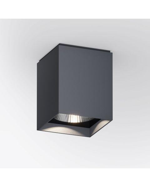 LED-Deckenspot UP S anthrazit (eckig)
