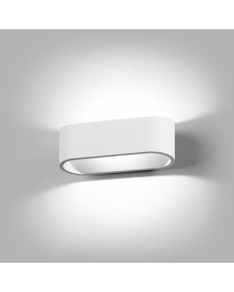 LED-Wandleuchte AURA 16cm weiß