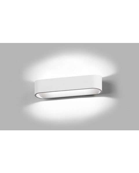 LED-Wandleuchte AURA 26cm weiß
