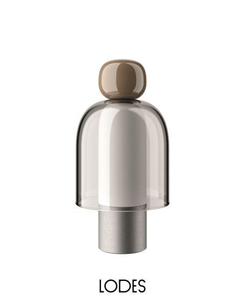 LED-Akku-Tischleuchte EASY PEASY Chestnut