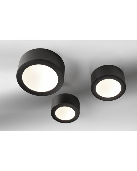 LED-Deckenleuchte BOWL schwarz 15cm/17cm/23cm