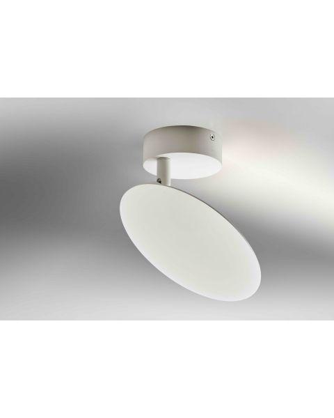LED-Wand-/Deckenleuchte PLATE weiß