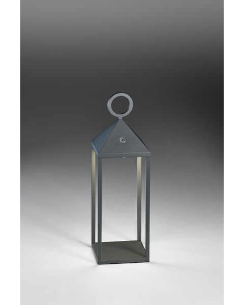 LED-Akku-Tischleuchte FAROL 47cm anthrazit