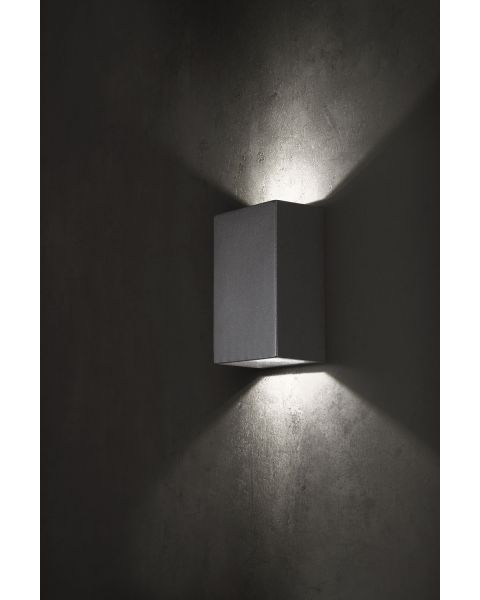 LED-Wandaußenleuchte PIAZZA anthrazit