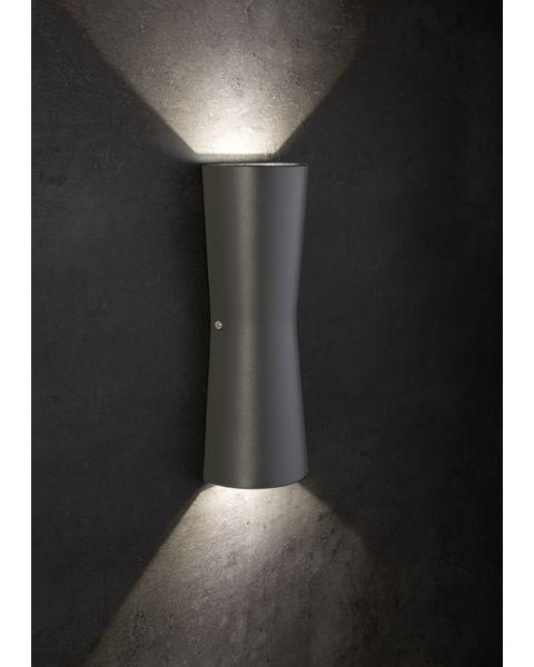 LED-Wandaußenleuchte KAVIA anthrazit