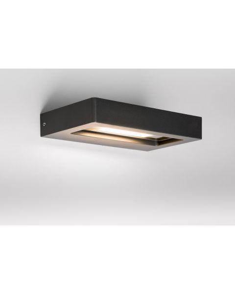 LED-Deckenaußenleuchte TURN anthrazit