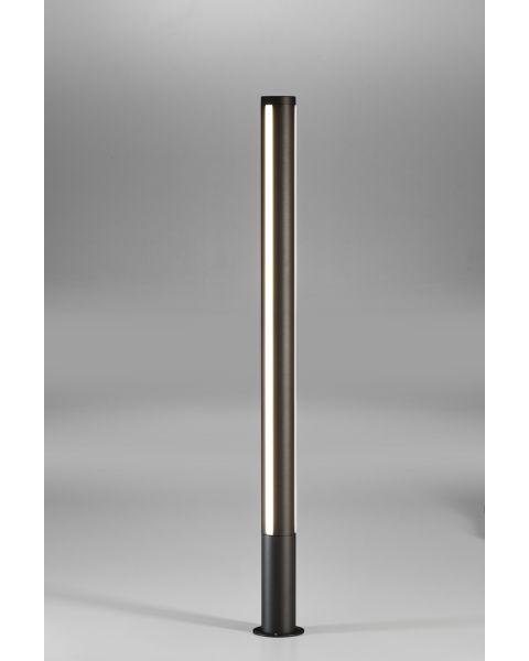 LED-Pollerleuchte LANK 125cm anthrazit