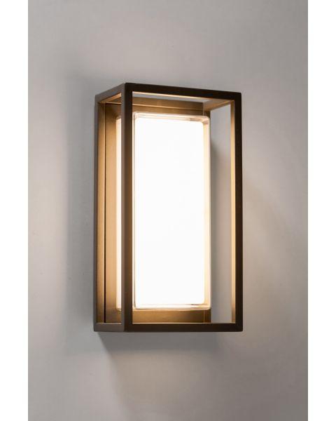 LED-Wandaußenleuchte QUADRO anthrazit