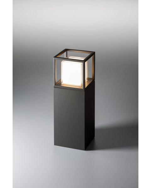 LED-Pollerleuchte QUADRO 45cm anthrazit