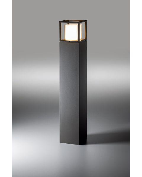 LED-Pollerleuchte QUADRO 90cm anthrazit