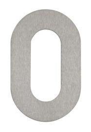 Hausnummer 0 Edelstahl