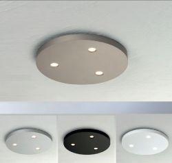 3er-LED-Deckenleuchte CLOSE D2W 20cm rund