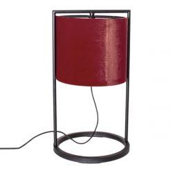 Tischleuchte Vieste 45 cm Rot