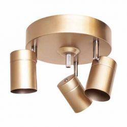 Deckenleuchte Correct 3-flam Gold matt