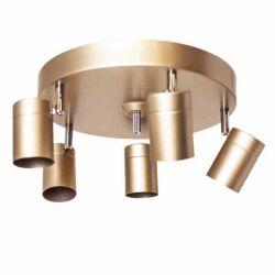 Deckenleuchte Correct 5-flam Gold matt