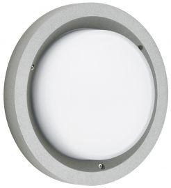 LED-Wand-/Deckenaußenleuchte Silber