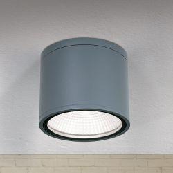 Hausmarke LED-Deckenaußenleuchte SPUTNIK AL 11-1200 anthrazit