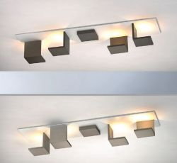 LED-Deckenleuchte REFLECTIONS D2W 80x20cm