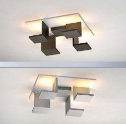 LED-Deckenleuchte REFLECTIONS D2W 40x40cm