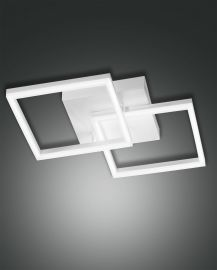 LED-Wand-/Deckenleuchte BARD 45x45cm weiß