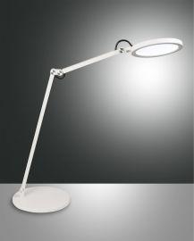 Fabas Luce LED-Tischleuchte REGINA weiß 3551-30-102
