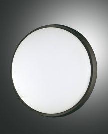 Fabas Luce LED-Deckenleuchte OLLY 30cm schwarz 3315-65-101