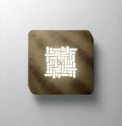 LED-Wand-/Deckenleuchte Pixel
