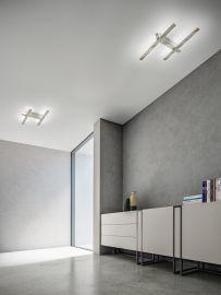 LED-Wand-/Deckenleuchte RAKE 65x37cm